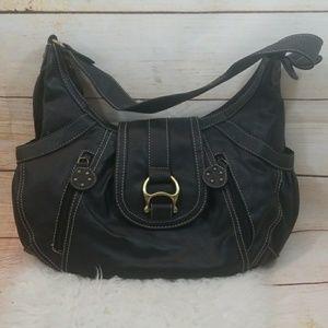 Alfred Dinner leather shoulder handbag gorgeous